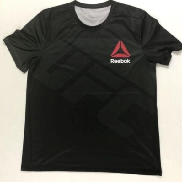 half off ef276 1e332 Men's REEBOK UFC Jersey Shirt - Custom X - Xl